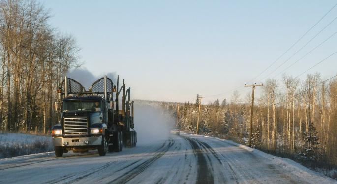 "Debt, Losses Sink Indigenous-Owned Canadian Carrier Featured On ""Ice Road Truckers"""