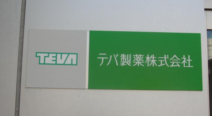 Street Has No Mercy For Teva Following Dividend Cut