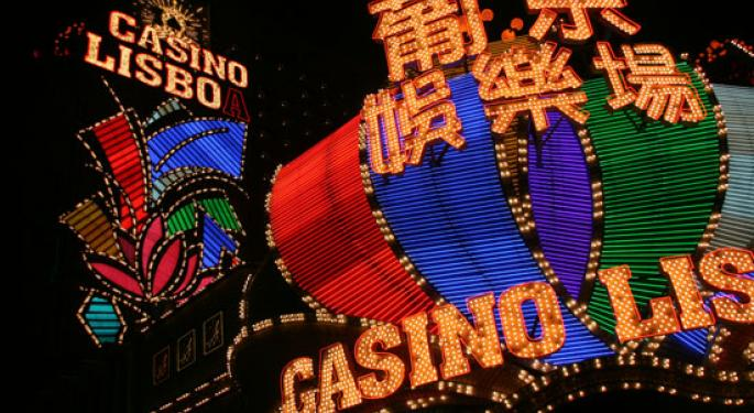 Citi Ups 2017 Macau Gaming Revenue Forecast To +10%