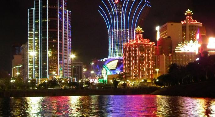 24% Monthly Growth In Macau Gaming Win Pushes Casino Stocks Higher