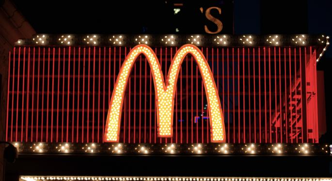 BofA Just Reacted To McDonald's Sales Decline And Made A Special Note On China