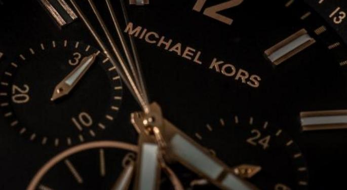 Luxury Update: Morgan Stanley Still Loves Michael Kors Despite 50% Year-To-Date Decline