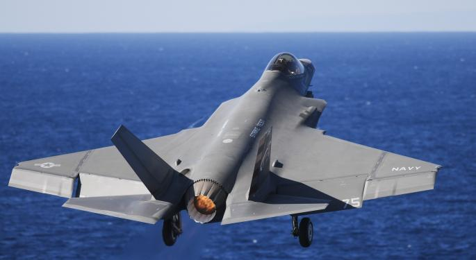Wells Fargo Ponders Whether Lockheed Martin Could See $20 EPS In 4 Years