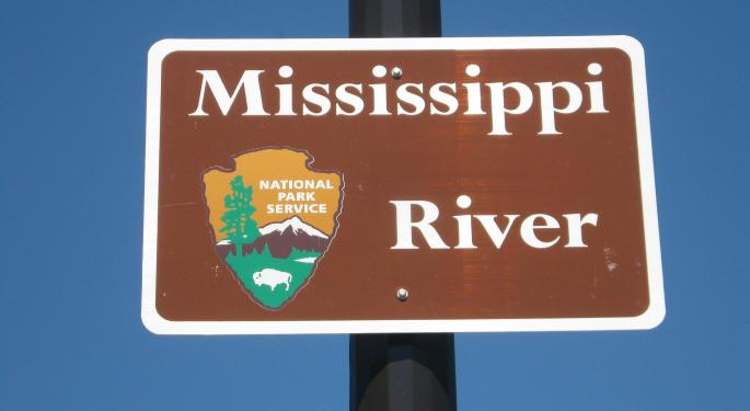 Mississippi Flooding's Impact On Freight, Economy Spreads Downstream