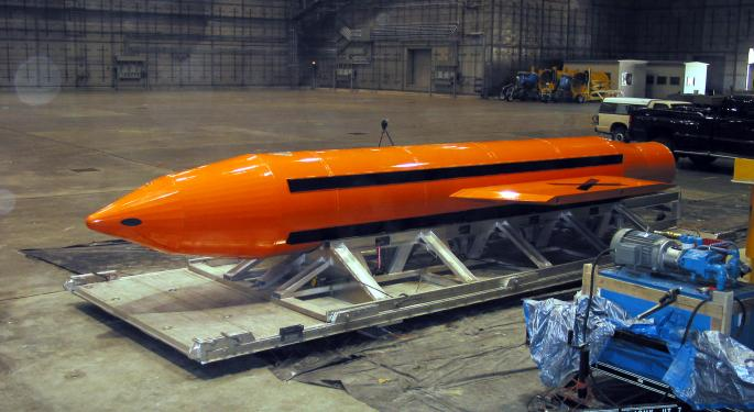 'Mother Of All Bombs' Made By Government Plant