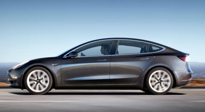 Keybanc Says Tesla Deliveries Tracking Above Estimates, Raises Model 3 Deliveries Forecast To 30,000