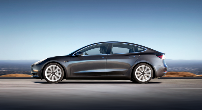 Tesla Meets Its Model 3 Production Goal, But Analysts Remain Largely Bearish
