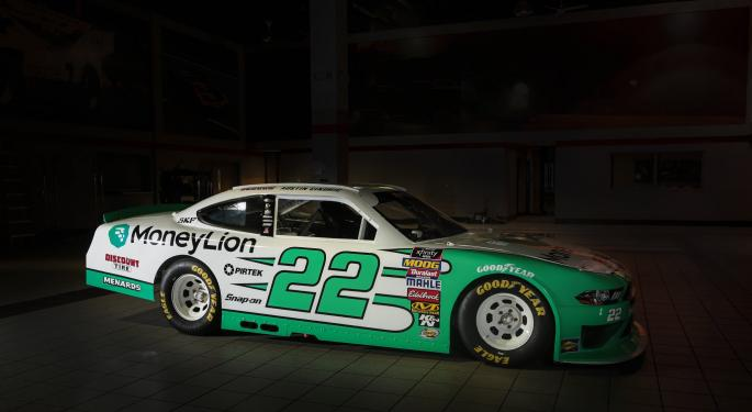 Why Did This Fintech Startup Sponsor A NASCAR Driver?