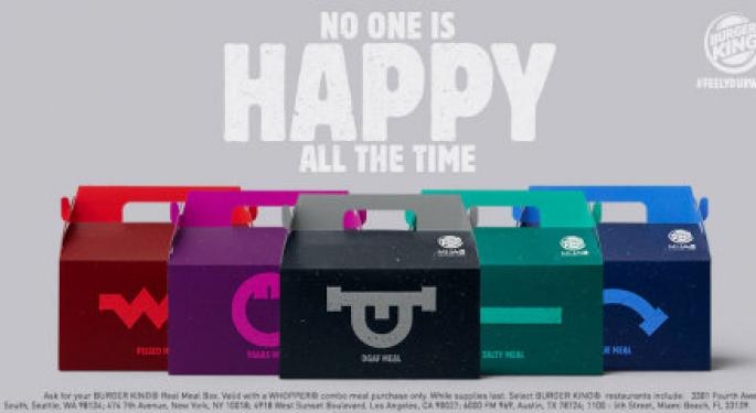 Don't Feel Like A Happy Meal? Burger King Has The Solution