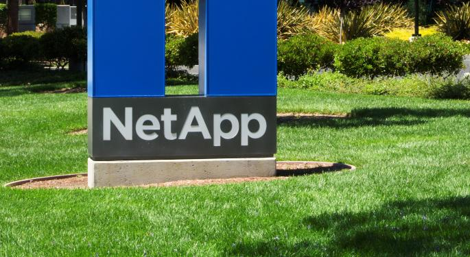 NetApp Guidance Disappoints, But Sell-Side Still Positive