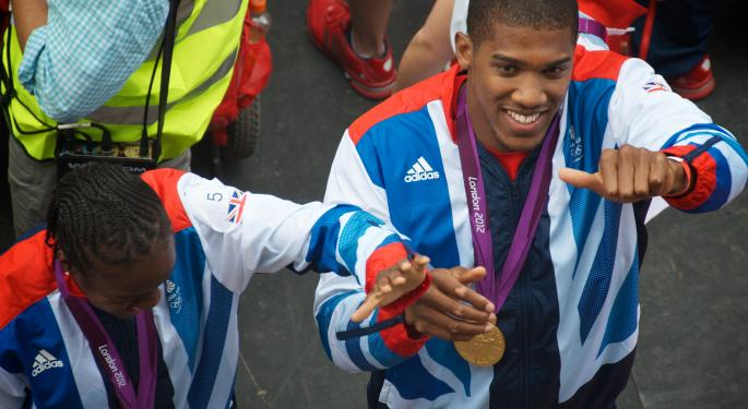 Anthony Joshua Could Be Just What Boxing, And Under Armour, Are Looking For