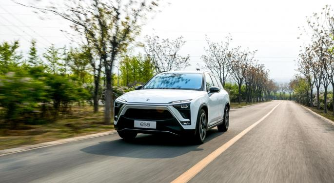 Nio On The Radar Ahead Of Chinese EV Manufacturer's Q2 Print