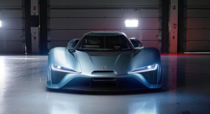 NIO's Lower Share Price Charges Interest In Chinese EV Maker