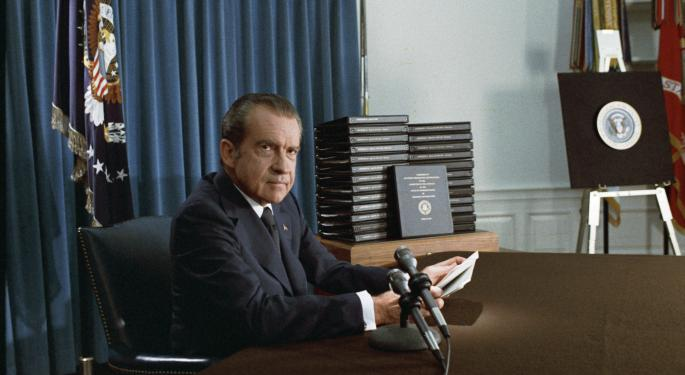 This Day In Market History: Nixon's Price Freezes