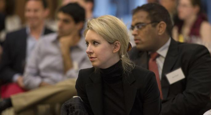 Theranos, Elizabeth Holmes Charged With 'Massive Fraud' By SEC