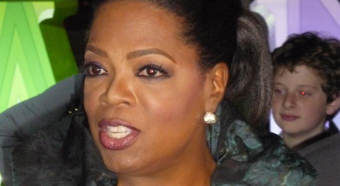 With Weight Watchers, Oprah May Have Shed 45 Pounds, But Her Wallet's Put On A Few