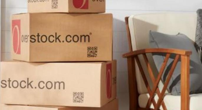Overstock Reports Mixed Q4 Earnings, CFO Resigns