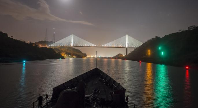 The Panama Canal Is About To Double In Capacity