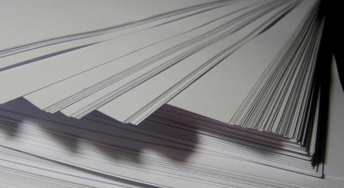 The Price Of Paper Is Increasing As Companies Try To Stay Profitable In Electronic Age