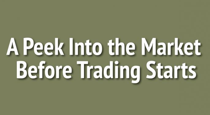A Peek Into The Markets: U.S. Stock Futures Drop Ahead Of Economic Reports