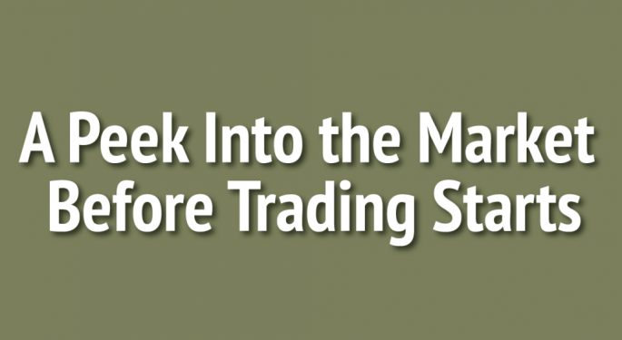 A Peek Into The Markets: US Stock Futures Down; Crude Oil Falls 1%