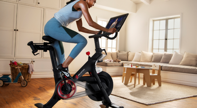 Wall Street Rides Peloton's Stock Higher As Audiences Puzzle Over New Commercial