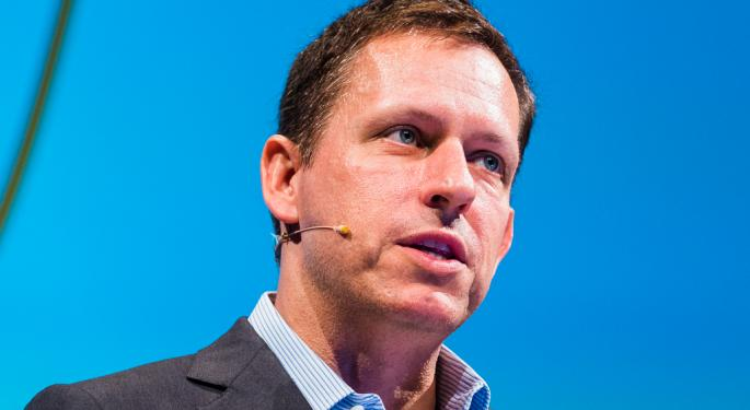 Billionaire Peter Thiel Sells A Majority Of His Remaining Facebook Stake