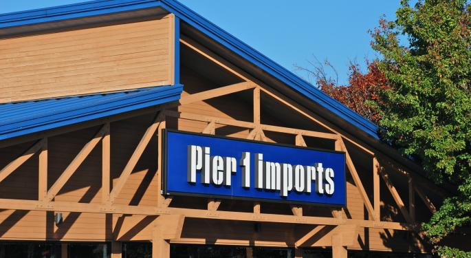 Pier 1 Imports Expected To Report Worst Quarter In At Least 5 Years