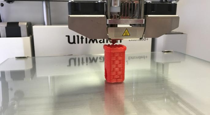 Going Dimensional With A Pair Of 3D Printing Stocks Set To Report Tomorrow