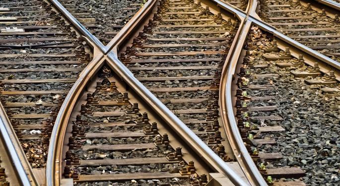 U.S. Rail Volumes Continue Dip
