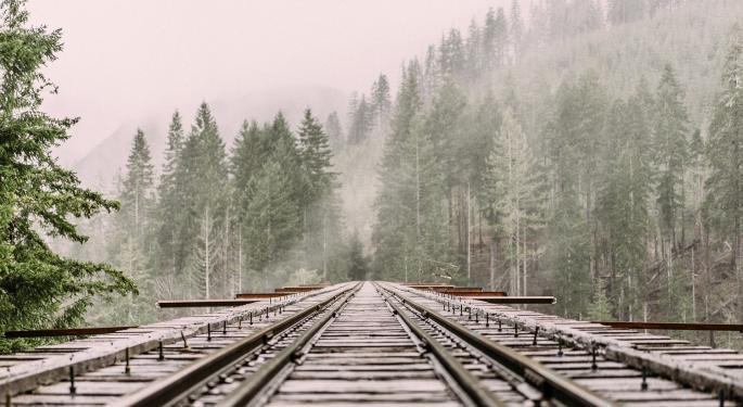 BMO Says Buy The Dip On Rails