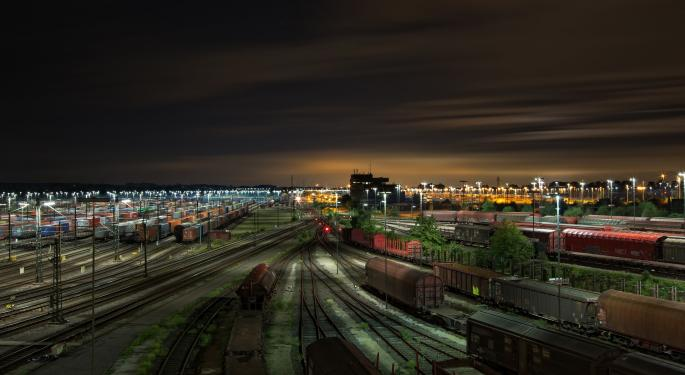 Is Rail Freight Volume Growing?