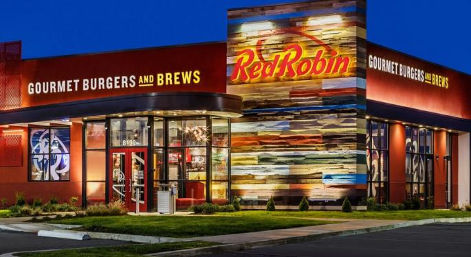 Red Robin Trades Higher After Acquisition Interest