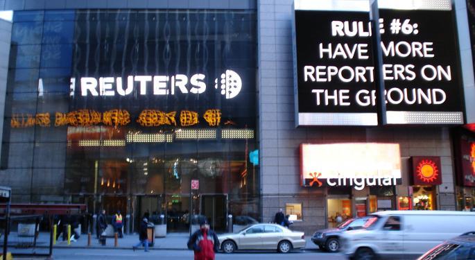 Refinitiv Blocks Reuters Reports On Hong Kong Protests