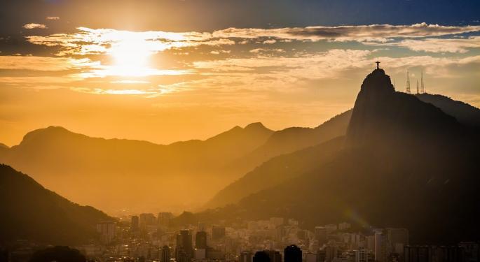 Traders Buy The Dip In A Volatile Brazil ETF