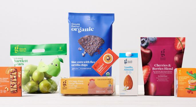 Target Bites At Walmart's Grocery Share With New Private Label Brand