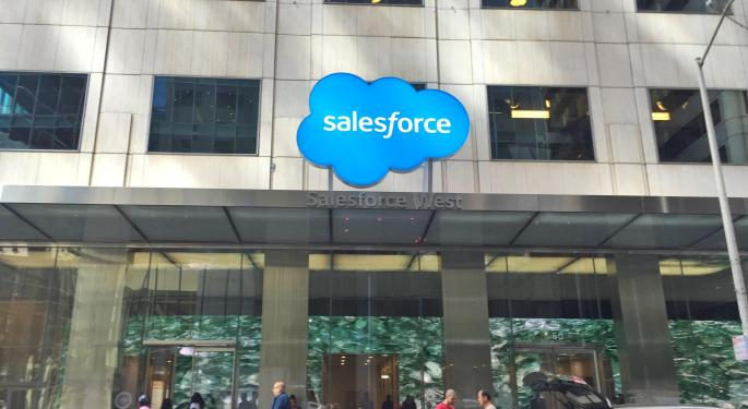 Salesforce Gains A Bull On The Strength Of Its Growth Story