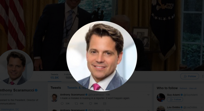 17 Things You May Not Know About Anthony Scaramucci