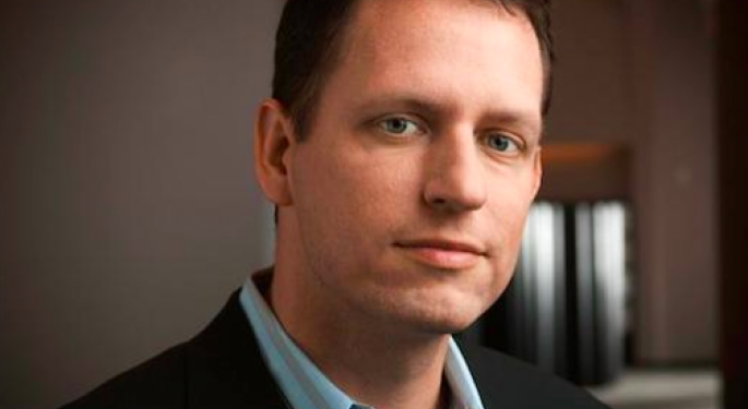 PayPal Co-Founder Peter Thiel: Facebook Inc. Was Systematically Underestimated