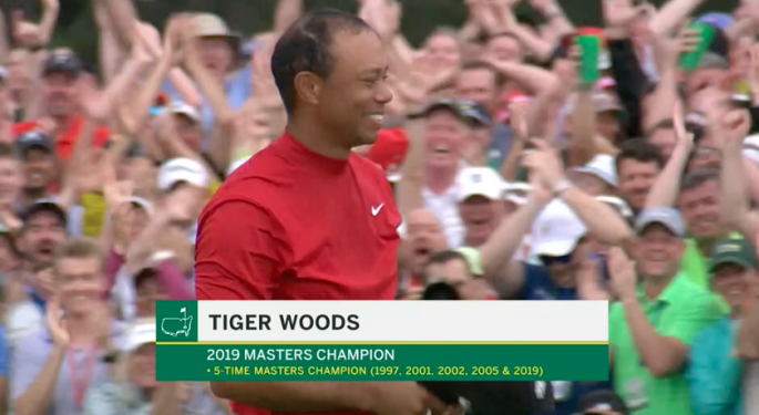 Tiger Woods Wins 2019 Masters Tournament, His First Since 2005