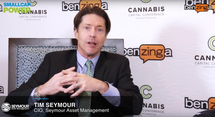 Tim Seymour Previews Aurora Cannabis Earnings