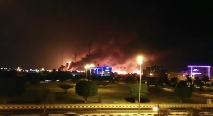 Saudi Arabia's Oil Production Hit Following Drone Strikes
