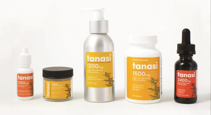 Tanasi Launches University-Developed, Full-Spectrum Cannabinoid Product Line