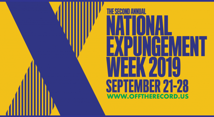 National Expungement Week Announces 2020 Dates, Releases 2019 Impact Report