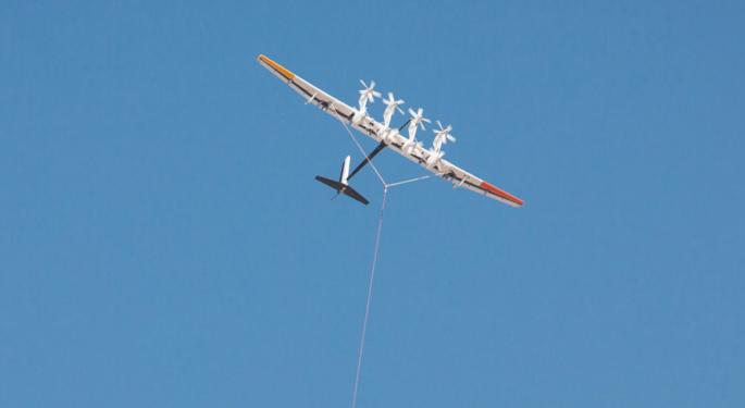 Google Parent Alphabet To Quit Power Generating Kite Company