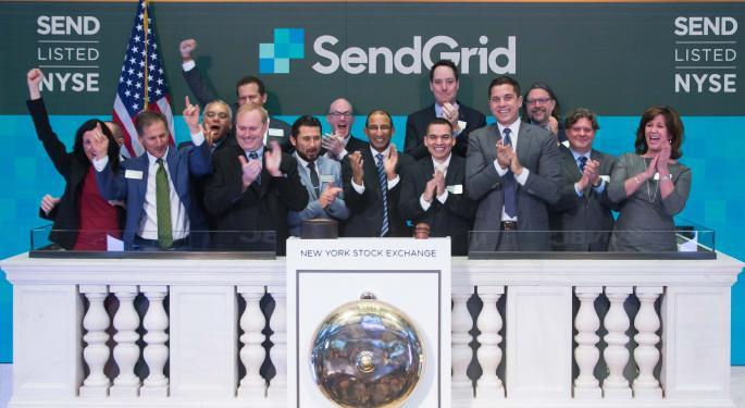SendGrid's Growth Story Has KeyBanc Feeling Bullish