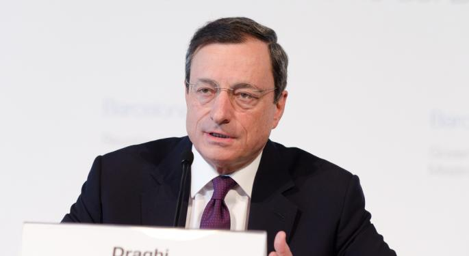 Draghi Reassures Euro-Area That the Worst is Over