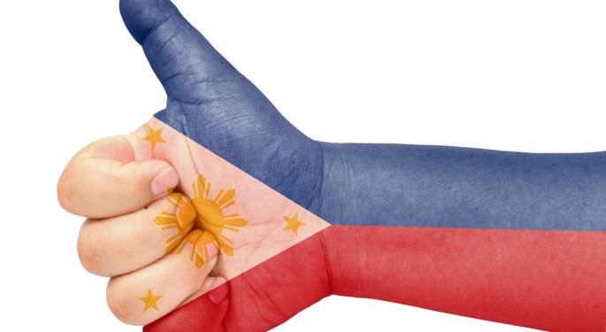 GDP Report Shows Philippines Juggernaut Going Strong