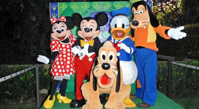 The Market Feels Disney Magic