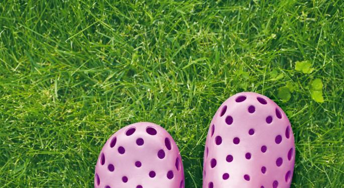 Crocs Falls More Than 2% After Q4 Results